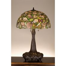 Stained Glass / Tiffany Table Lamp from the Seashell Collection