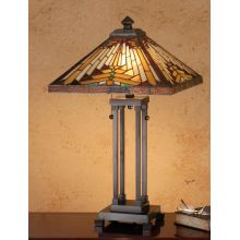 Stained Glass / Tiffany Table Lamp from the Mission Collection