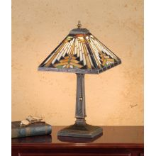 Stained Glass / Tiffany Accent Table Lamp from the Mission Collection