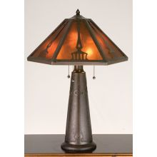 Craftsman / Mission Table Lamp from the Grenway Collection