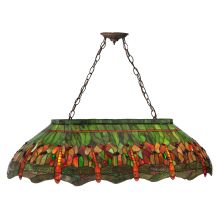 Meyda tiffany chandeliers from lightingdirect 41 l tiffany hanginghead dragonfly island billiard fixture meyda tiffany 28522 aloadofball Image collections