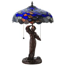 Maxfield Parrish Museum 2 Light Accent Table Lamp