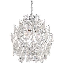 3 light single tier chandelier from the mini chandeliers collection