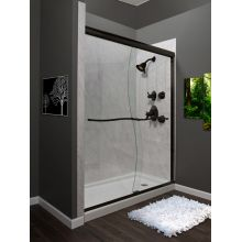 Suave 72 High X 60 Wide Frameless Shower Door With Clear Gl And H2off