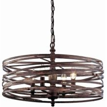 Drum chandeliers lighting direct annata 4 light chandelier with 72 adjustable chain aloadofball Gallery