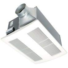 WhisperWarm 110 CFM 0.6 Sone Ceiling Mounted Energy Star Rated Bath Fan And  Heater Combination With