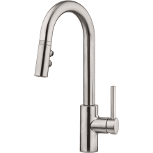 Stellen Pull Down Spray High Arc Kitchen Faucet With Pforever Seal