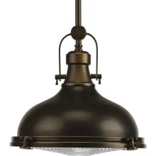 fresnel lens 12 wide pendant with fresnel glass diffuser progress lighting p5188 - Nautical Pendant Lights