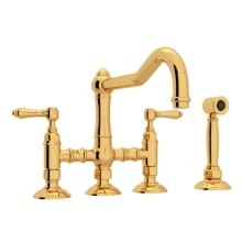 Double Handle Kitchen Faucets At Faucet Com