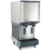 meridian 260 lb daily ice production ice machine water dispenser with 12 lb storage - Commercial Ice Machine