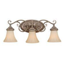 Tuscan bathroom lighting lightingdirect avenant 3 light vanity light mozeypictures Images