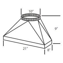 Range Hood Duct Transitions | VentingDirect com