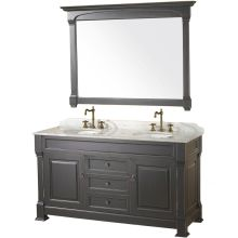 double vanity with two mirrors. 60\ double vanity with two mirrors