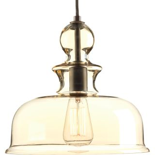 Progress Lighting Staunton 1-Light Bowl Pendant