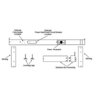 Amana Accessory PTAC - PTSB320ECompact Appliance