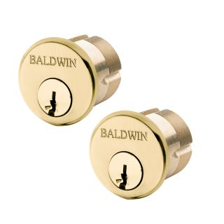 "BALDWIN HARDWARE 8322 1 1//8/"" MORTISE CYLINDER SCHLAGE KEYWAY US10B MADE IN USA"