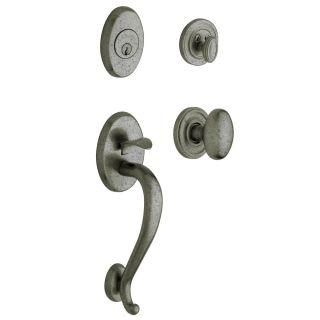 Baldwin 85335452entr Distressed Antique Nickel Logan