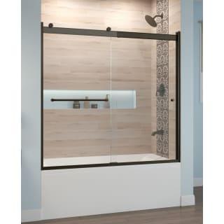 Basco Rtla05b6057clsv Chrome Rotolo 57 High X 60 Wide Sliding Semi Frameless Tub Door With Clear Glass Faucet Com
