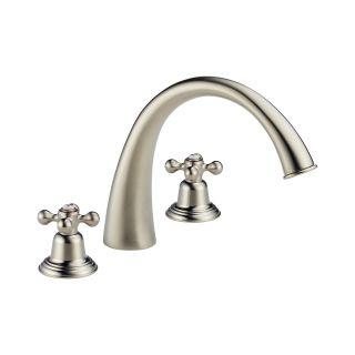 Brizo 6720 bnlhp brilliance brushed nickel deck mounted - Brizo providence bathroom faucet ...
