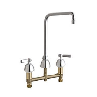 Chicago faucets 201 rsha8ae35vxkab chrome commercial grade for Eco friendly kitchen faucets