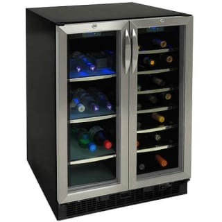 Danby Silhouette Dbc2760bls Dual Zone Beverage Refrigerator