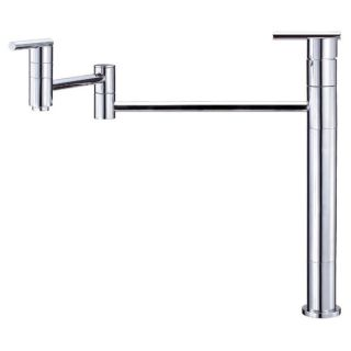 Danze D206558 Chrome Deck Mounted Pot Filler Faucet With