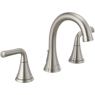 Delta 3533lf Ssmpu Brilliance Stainless Kayra Widespread Bathroom Faucet Faucetdirect Com