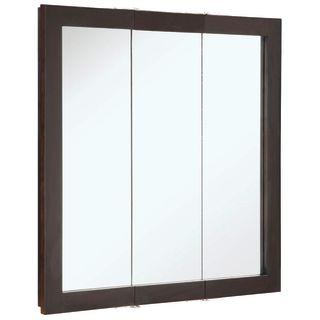 Design House 541342 Espresso 30 Quot Framed Triple Door