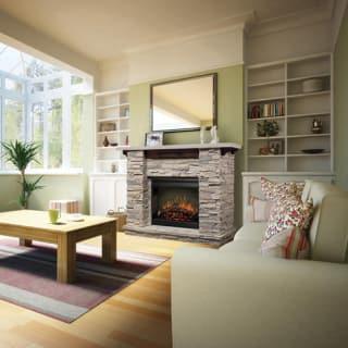 Dimplex Featherstone Electric Fireplace Mantel GDSLR - Mantel electric fireplace