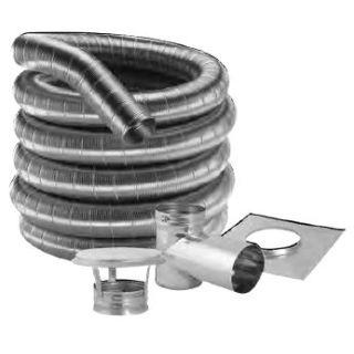 Duravent 3df316 20kt Stainless Steel 3 Quot Inner Diameter
