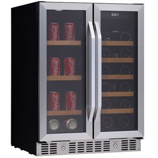 24 Inch Built In Wine And Beverage Cooler With French