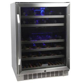 Edgestar Cwr461dz 46 Bottle Dual Zone Wine Cooler