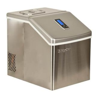 Stainless Steel Clear Ice Maker