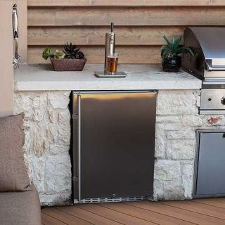 Edgestar full size built in outdoor kegerator kc7000ssod Home bar furniture with kegerator