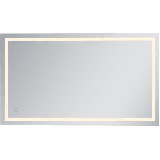 Elegant Lighting Mre14272 Silver Helios 42 X 72 Rectangular Frameless Wall Mounted Lighted Bathroom Mirror Lightingdirect Com