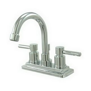 Elements Of Design Es8661dl Chrome Twin Lever Handles 4 Centerset Bathroom Faucet