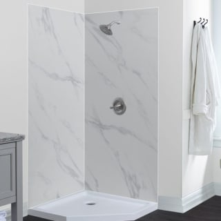 Corner Shower.Foremost Gfs424278 Qu Quary Jetcoat 42 X 42 X 78 Two Panel