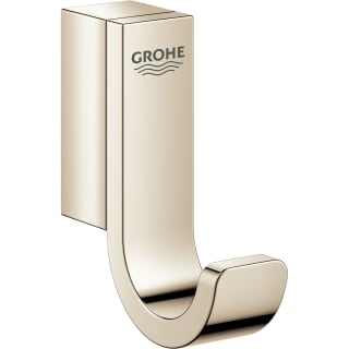 Grohe 41039be0 Polished Nickel Selection Robe Hook Faucetdirect Com