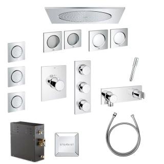 grohe f digital 550 cf steam shower. Black Bedroom Furniture Sets. Home Design Ideas