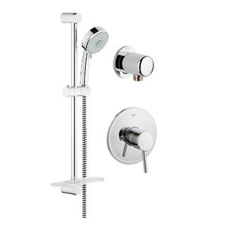Grohe gr pb010sc starlight chrome concetto pressure - Grohe concetto shower ...