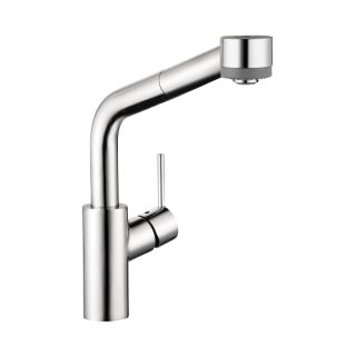 Hansgrohe 04247000 Chrome Talis S Pull Down Kitchen Faucet