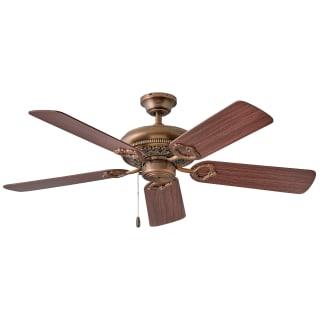 Hinkley Lighting 901152fac Nid Antique Copper Lafayette 52 5 Blade Ceiling Fan Lightingdirect Com