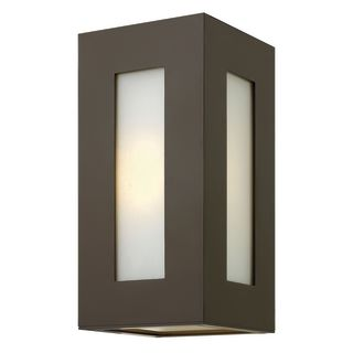 Exterior Wall Sconce Mounting Height : Hinkley Lighting 2190BZ-LED Bronze 2 Light 12.25
