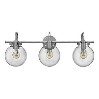 Hinkley Lighting 50034cm Chrome 3 Light 29 5 Quot Width