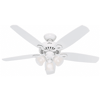 Hunter 53236 Snow White 52 Indoor Ceiling Fan