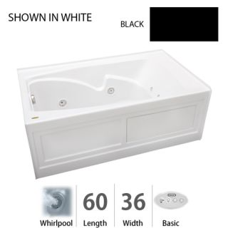 Jacuzzi Cts6036wlr2hxa Almond 60 Quot X 36 Quot Cetra 174 Three Wall