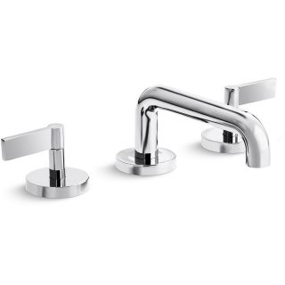 Kallista P24491-LV-CP Polished Chrome One 1.2 GPM Double Lever ...