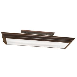 Kichler 10847oz Olde Bronze 4 Light Fluorescent Linear