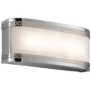 Kichler 45851chled Contessa Led Bathroom Vanity Light Chrome