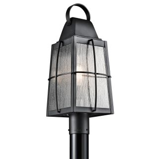 Kichler 49555bkt textured black tolerand 1 light line for Line voltage outdoor lighting